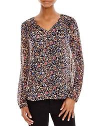 Floral print blouse medium 337226