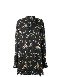 Haider Ackermann Floral Long Sleeve Shirt