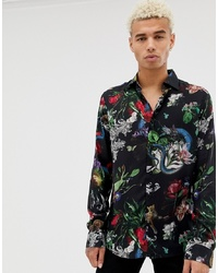 d365b59ae7171 ... Long Sleeve Shirt Out of stock · Criminal Damage Shirt In Black With  Animal Print Out of stock · ASOS DESIGN Plus Regular Fit ...