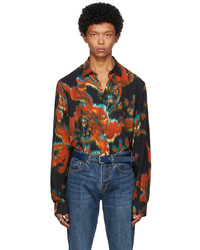 Paul Smith Tailored Graphic Long Sleeve Shirt