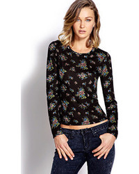 Forever 21 Retro Floral Top