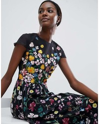 793525b45d6cd1 ... Ted Baker Embroidered Floral Mariz Maxi Dress