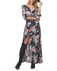 Floral maxi dress medium 4950422
