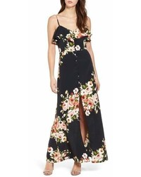 Band of Gypsies Floral Maxi Dress