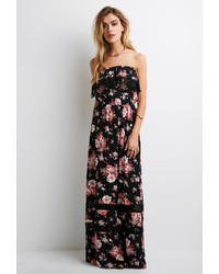 ca0cec44ffc Women s Black Floral Maxi Dresses by Forever 21