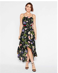 5ce81b6030d ... Express Floral Ruffle Wrap Maxi Dress