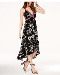 INC International Concepts Inc Petite Printed Faux Wrap Maxi Dress Created For Macys