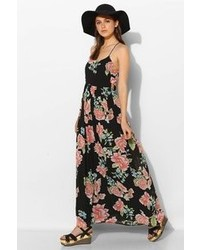 Urban Outfitters Knt By Kova T Knt By Kova T Strappy Floral Maxi Dress