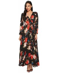 Unique Vintage Long Sleeve Farrah Maxi Dress Dress