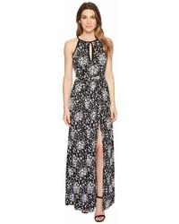 MICHAEL Michael Kors Michl Michl Kors Mod Floral Halter Maxi Dress Dress