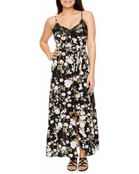 a05997d3d675 ... Premier Amour Premier Amour Sleeveless Floral Maxi Dress
