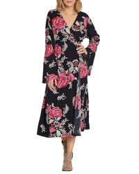Billabong Floral Whispers Floral Midi Dress