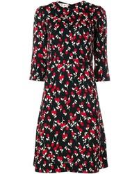 Rhythm print midi dress medium 800335