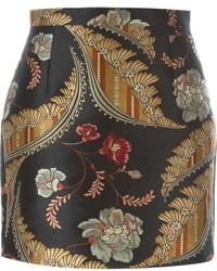 Dsquared2 Floral Jacquard Skirt