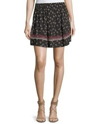 Florica floral printed mini skirt medium 4983566