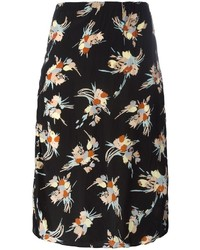 Floral print pencil skirt medium 3649465