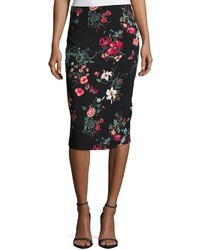Meadow floral print pencil skirt medium 3776632