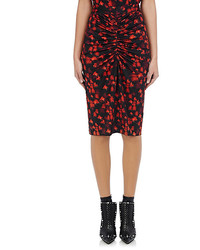 Givenchy Tech Jersey Pencil Skirt