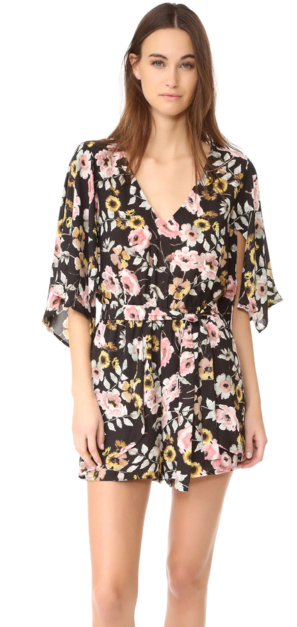 Cupcakes And Cashmere Emile Everly Floral Romper   Where to buy   how to  wear aaf9c03bfa