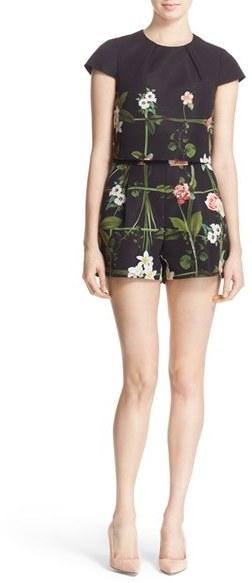 d76207a2887ef ... Ted Baker London Kaysha Floral Print Romper ...