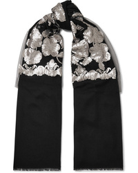 Etro Sequined Cashmere And Scarf