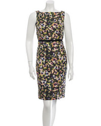 Marc Jacobs Floral Sheath Dress