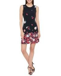 Tommy Hilfiger Madrid Floral Jersey Sheath Dress