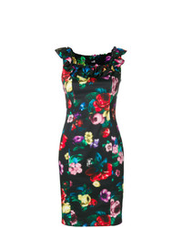 Love Moschino Pixilated Flower Dress