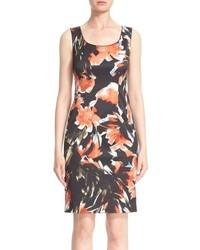 Rebecca floral print sheath dress medium 749026