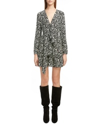 Saint Laurent Bandana Print Silk Dress
