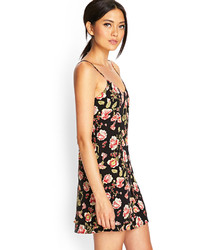 Juicy Couture Sketched Floral Jersey Shift Dress Where