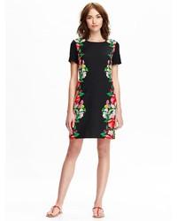 73d7d4e3d25 ... Black Floral Shift Dresses Old Navy Poplin Shift Dresses Old Navy  Poplin Shift Dresses