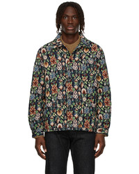 Sunflower Jacquard Flower Jacket
