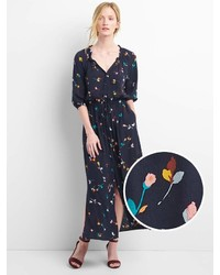 Gap Drapey Maxi Shirtdress
