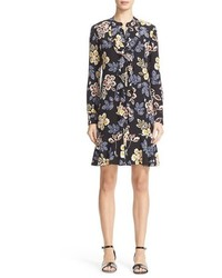 Tory Burch Jane Floral Silk Shirtdress