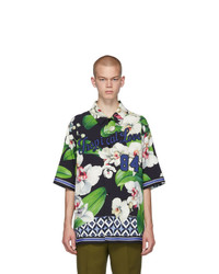 Dolce and Gabbana Black Orchid Shirt