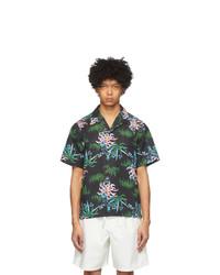 Kenzo Black Sea Lily Shirt