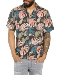 Canty monstera camp shirt medium 8679249