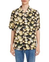 Loewe Daisy Print Bowling Shirt