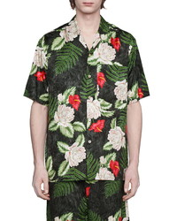 Gucci Hawaiian Dream Short Sleeve Button Up Shirt
