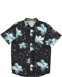O'Neill Padang Short Sleeve Shirt Black Short Sleeve Shirts