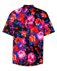 MSGM Printed Button Down Shirt