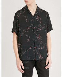 Represent Floral Print Relaxed Fit Woven Shirt