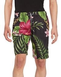 Reason Floral Mesh Shorts