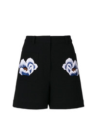 Markus Lupfer Floral Patch Shorts