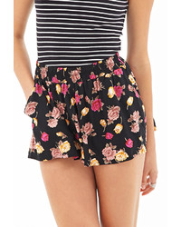 Forever 21 Floral Print Flowy Shorts   Where to buy & how to wear