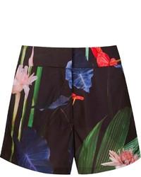 Osklen Floral Print Shorts