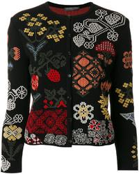 Floral patch cardigan medium 5264369