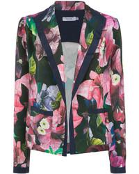 Isolda floral print blazer medium 6838581