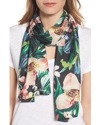 Tropic floral silk scarf medium 4014680
